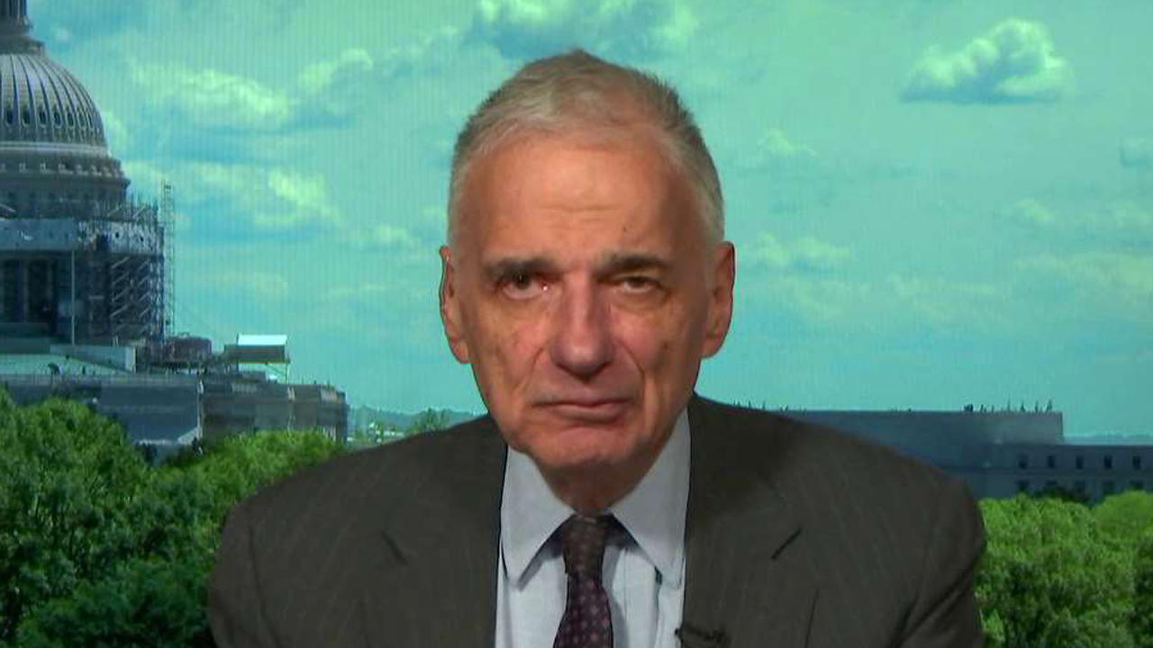 Former presidential candidate Ralph Nader on Libertarian presidential nominee Gary Johnson's 'Aleppo' blunder and the controversy surrounding the Clinton Foundation.