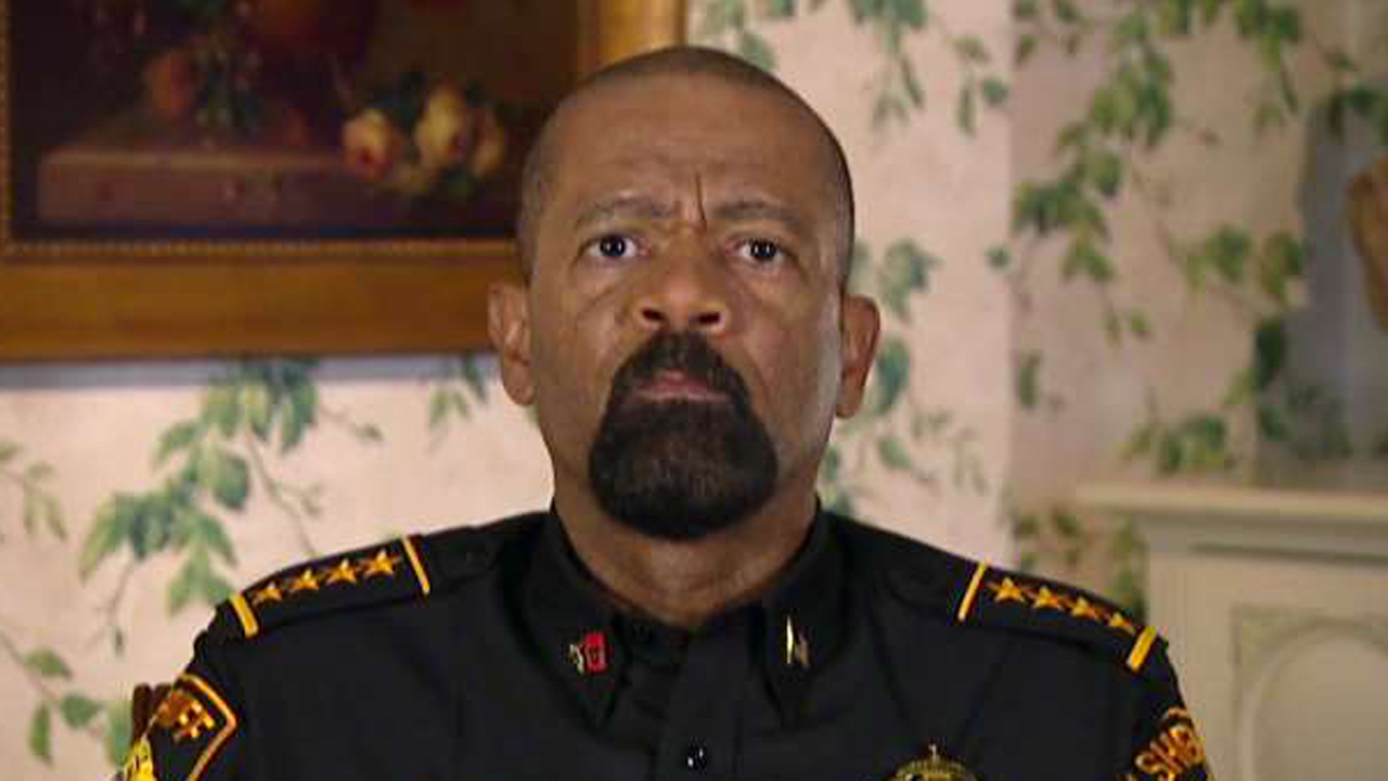 Milwaukee County Sheriff David Clarke on the shooting of two Oklahoma police officers and the racial divide in America.