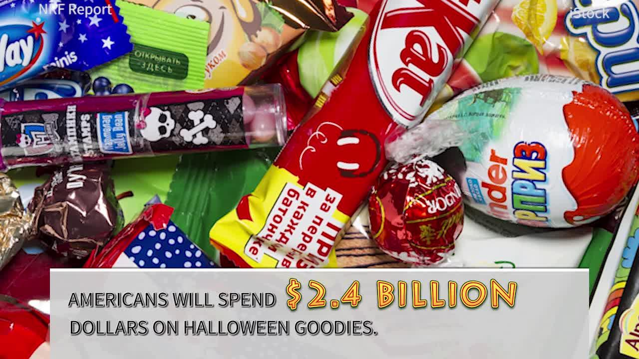 The candy industry is looking to break sales records come this Halloween.