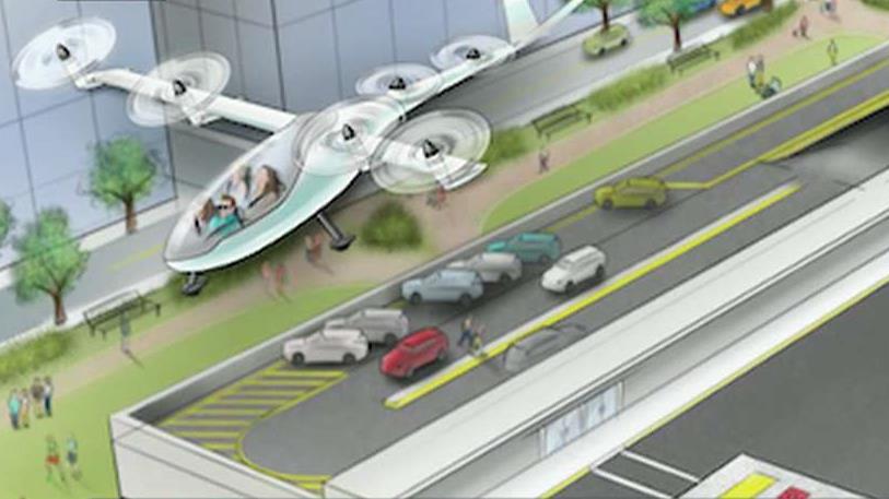 FBN's Cheryl Casone on Uber's plan for a network of flying cars.