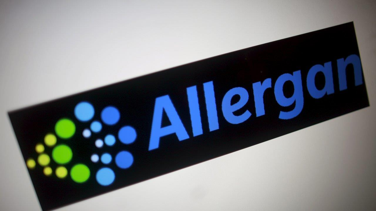 Allergan CEO Brent Saunders on the pharmaceutical company's third-quarter results, the company's drug pipeline, drug pricing and the election's impact on corporate taxes.