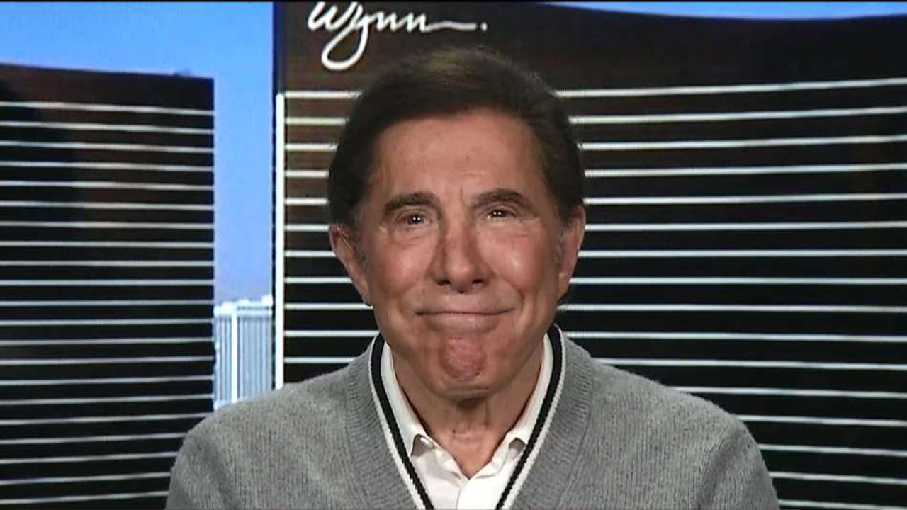 Wynn Resorts CEO Steve Wynn on how the election has impacted the marketplace.
