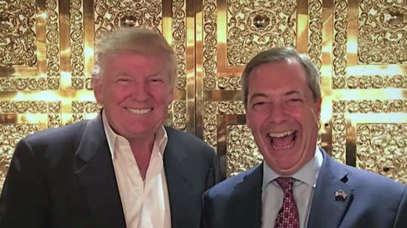 Former U.K. Independence Party Leader Nigel Farage discusses how a Donald Trump presidency will affect the relationship between the U.K. and the U.S.