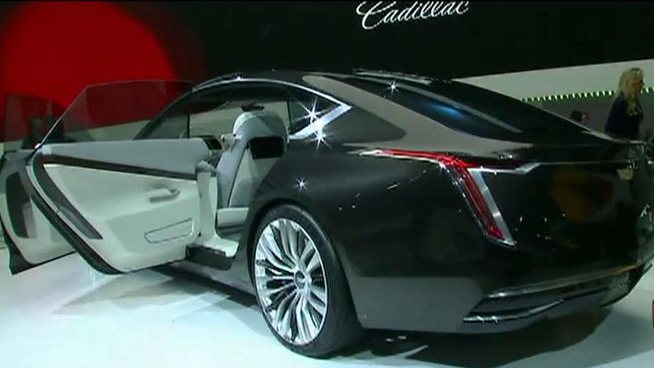 FBN's Jeff Flock reviews some of the highlights from the LA Auto Show and talks to Cadillac V.P. Johan de Nysschen about the automaker's outlook and latest concept car.