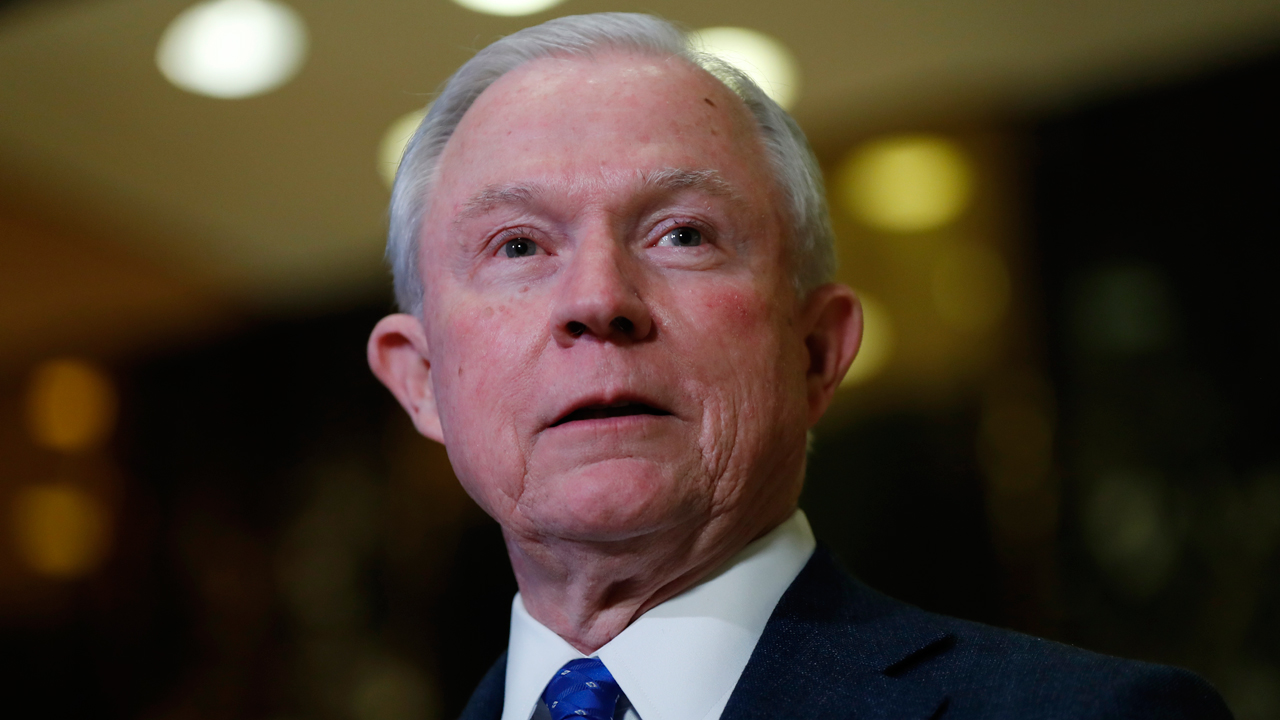 Former U.S. Attorney General John Ashcroft reacts to accusations that Sen. Jeff Sessions (R-AL) is a racist.