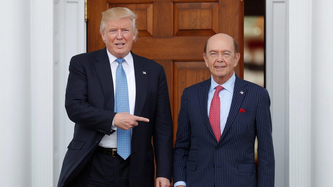 Treasury Secretary Nominee Steven Mnuchin and Commerce Secretary Nominee Wilbur Ross on trade and regulatory reform.