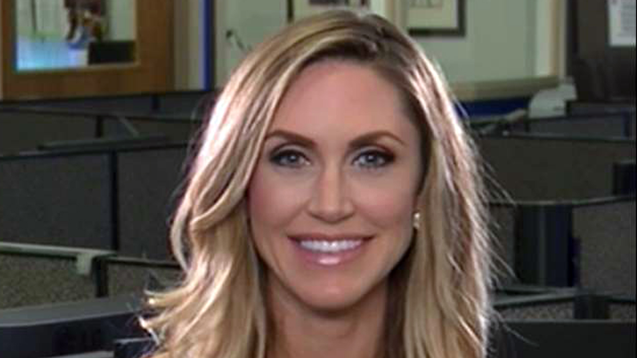 Lara Trump, wife of Eric Trump, on women and millennial voters and media bias against Republican presidential nominee Donald Trump.