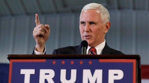 2016 Republican Vice Presidential Candidate Governor Mike Pence argues the October jobs report is a reflection of failed policy.