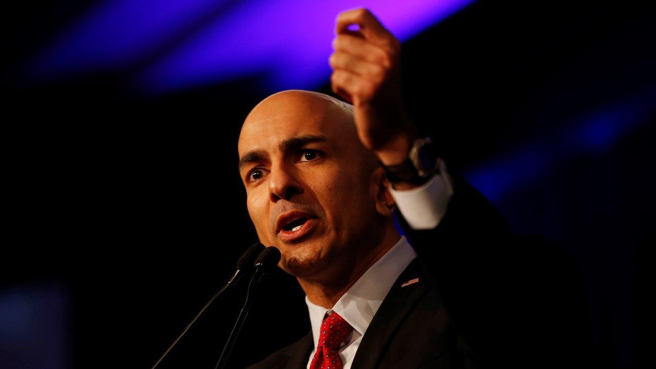 Minneapolis Federal Reserve Bank President Neel Kashkari on Federal Reserve policy, the debate over 'too big to fail,' and the economy.