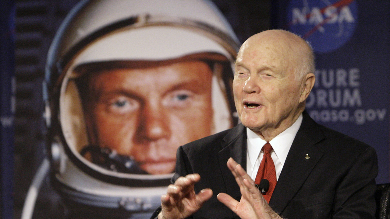 Former NASA astronaut Eileen Collins reflects on the life and career of John Glenn.