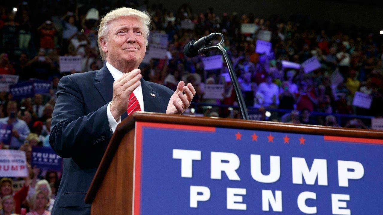 Nasdaq CEO Bob Greifeld tells you how a Donald Trump win has affected Wall Street.
