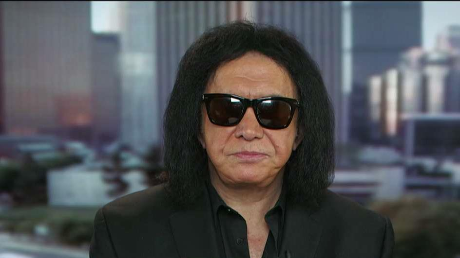 KISS Co-Founder Gene Simmons explains why celebrities should keep their political opinions to themselves and how he plans to help create jobs.