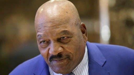 Pro football hall-of-famer Jim Brown on his meeting with President-elect Donald Trump.