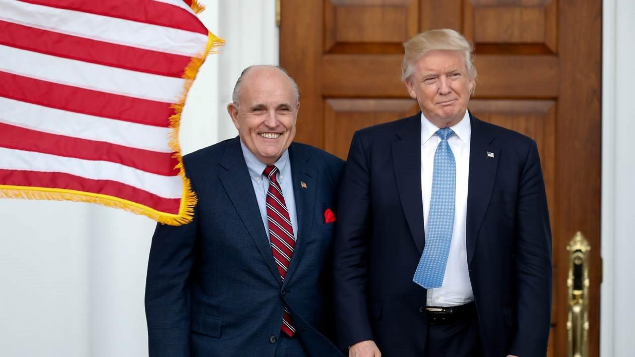 Former New York City Mayor Rudy Giuliani talks with Neil Cavuto about withdrawing from Secretary of State race.