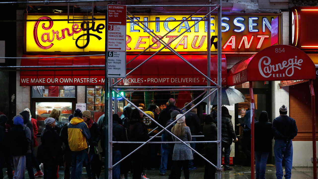 Restauranteur Sammy Musovic discusses why he is attempting to buy Carnegie Deli in New York City.