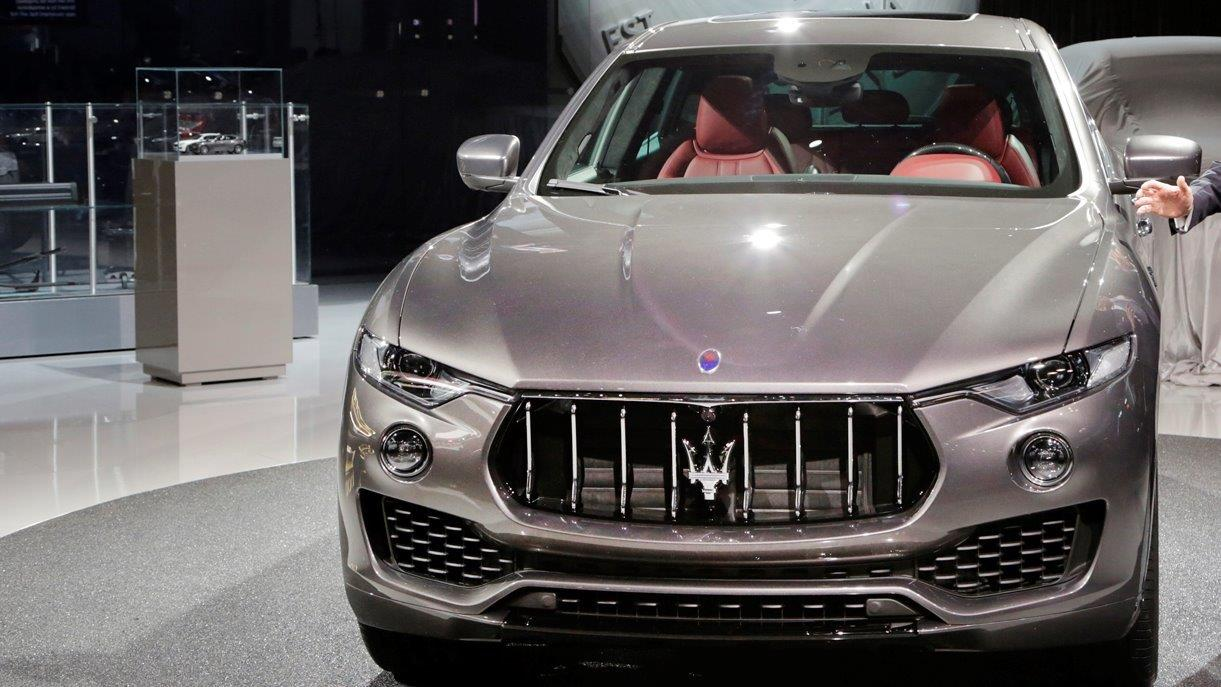 Tom Shanley, Head of Maserati North America, on the automaker's new SUV.