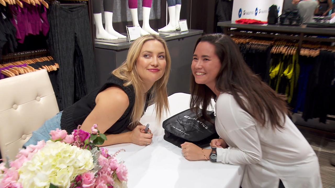 Kate Hudson, actress and co-founder Fabletics, discusses past controversies and growing success of the leisurewear brand.