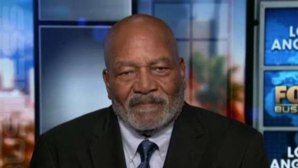 NFL Hall of Famer Jim Brown discusses why he's working with President-elect Donald Trump.