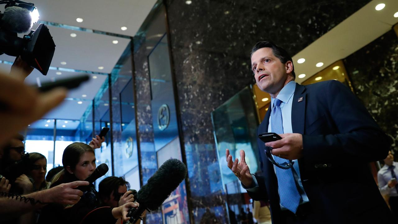 FBN's Senior Correspondent Charlie Gasparino reports on Anthony Scaramucci's delayed appointment amid turf war with Counselor to POTUS Steve Bannon, White House Chief of Staff Reince Priebus and Omarosa Manigault, Director of Communications for the Office of Public Liaison.