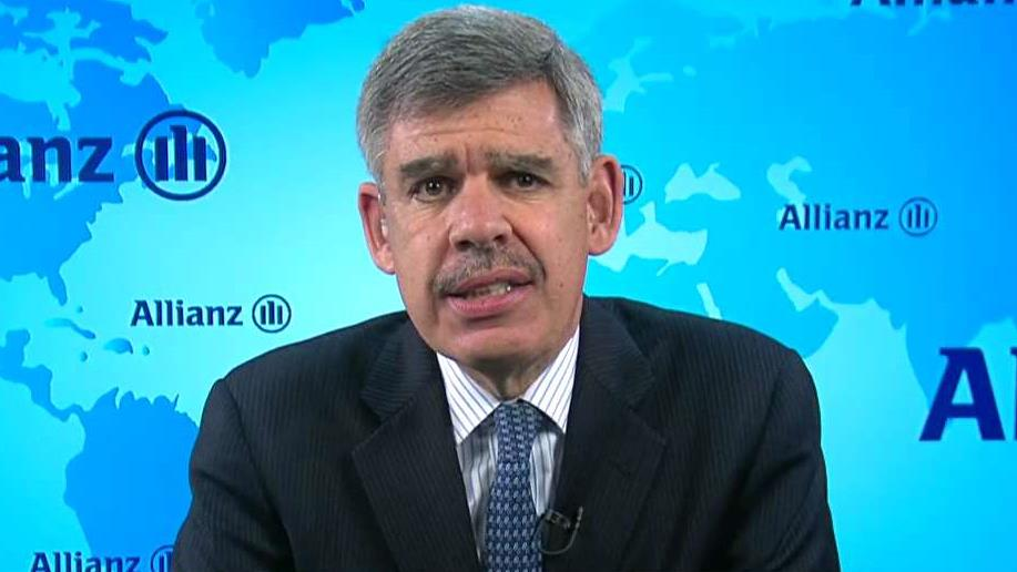 Allianz Chief Economic Advisor Mohamed El-Erian discusses how President Donald Trump's policies will continue to drive the market rally.