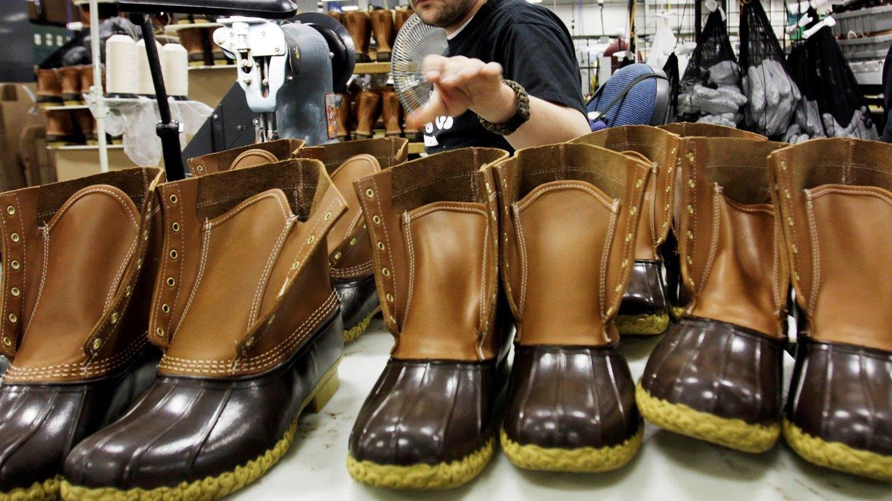 L.L. Bean Board Member and Co-Owner Linda Bean on calls for a boycott of the company because of her support for President-elect Donald Trump and the state of the U.S. economy.