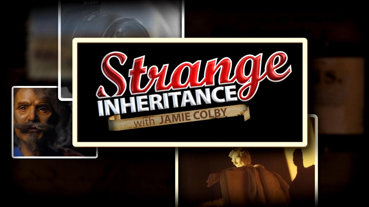 From priceless pennies to puppets, season three of Strange Inheritance is a must-see. Jamie Colby gives viewers a sneak peek.