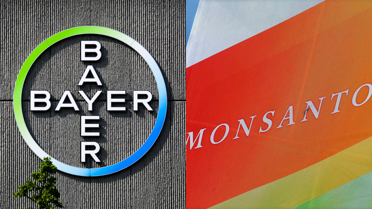 FBN's Charlie Gasparino reports that the chief executive officers of Bayer and Monsanto met with President-elect Trump to present a case for the merger between the two companies.