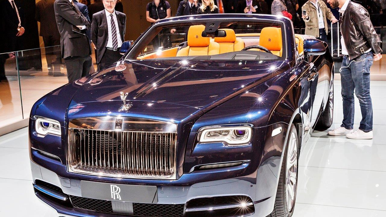 Rolls-Royce North America President Pedro Mota on the automaker's new 'Dawn.'