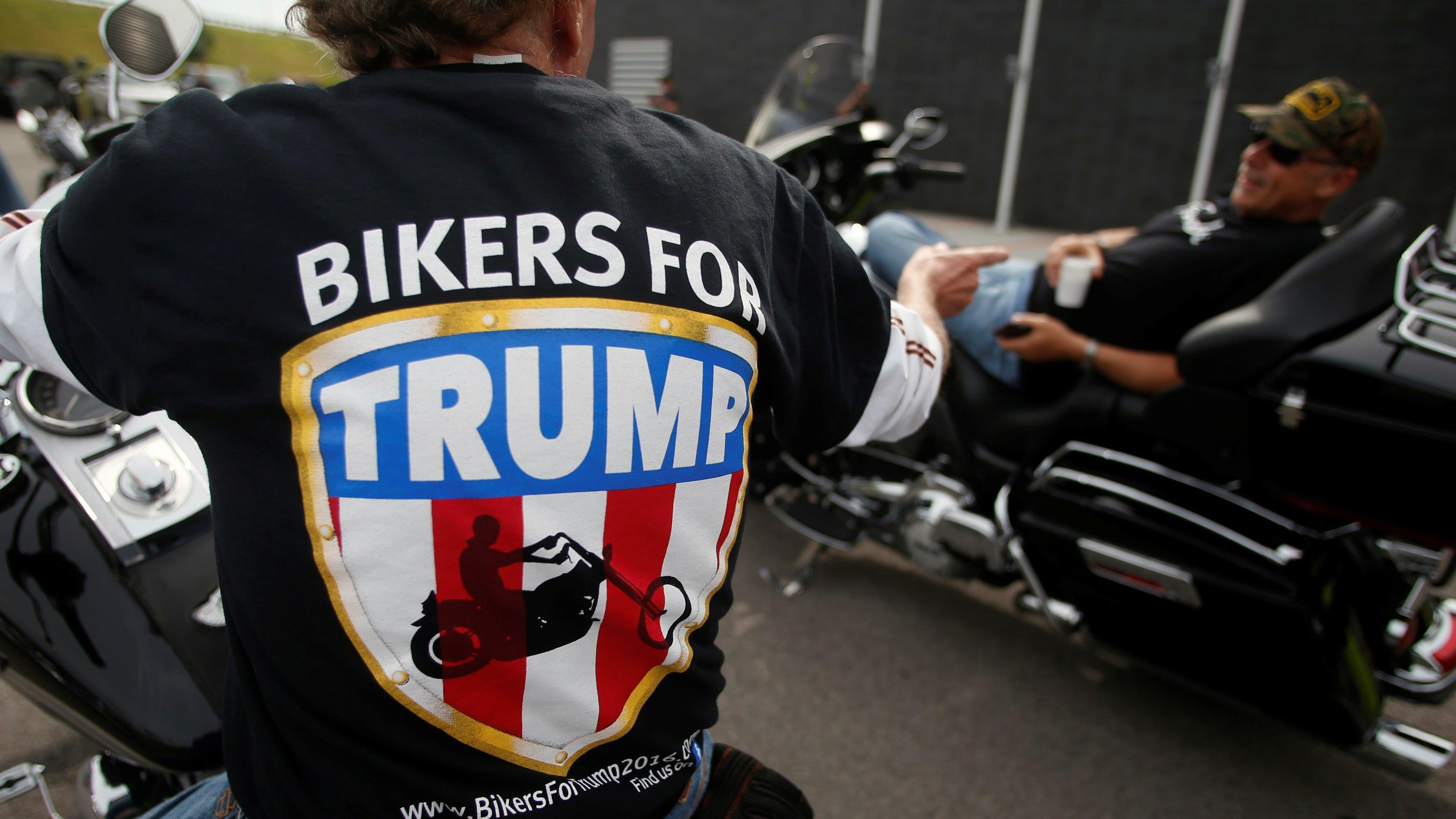 Chris Cox of Bikers for Trump on how the group will help if inauguration protests get out of hand.