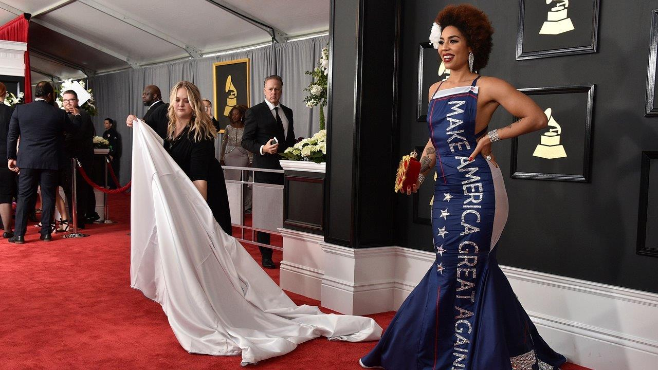 Singer Joy Villa on the reaction to the 'Make America Great Again' dress she wore at the Grammy Awards.