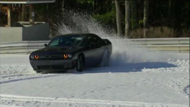 For The First Time Ever The Classic Muscle Car Can Tackle Snow Fox