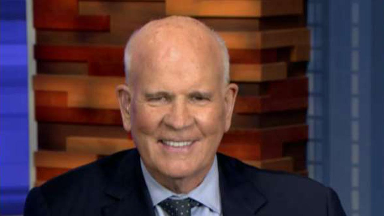 Former NBC CEO Bob Wright weighs in on the media's battle with President Trump, and his own fight to end pancreatic cancer.