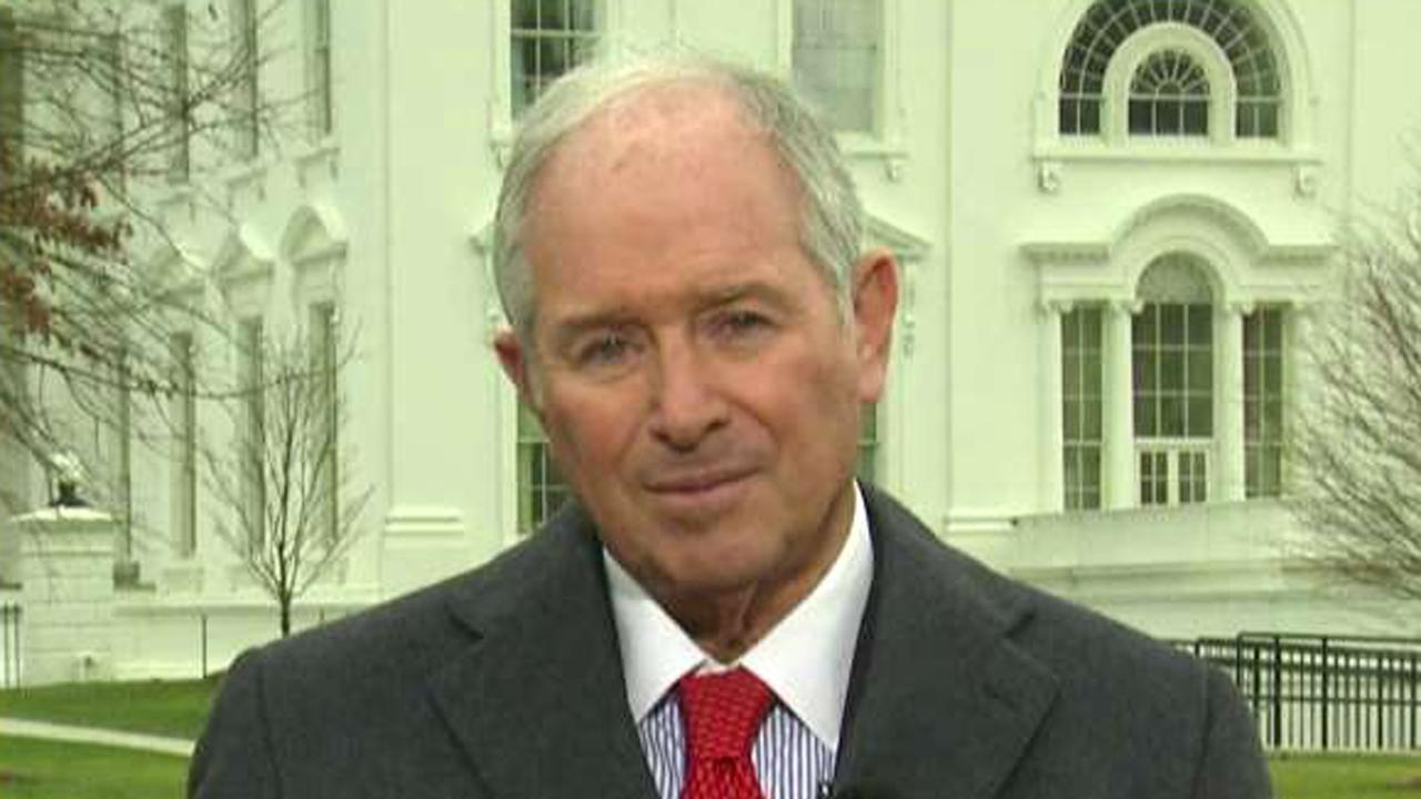 Blackstone Chairman, CEO and co-founder Stephen Schwarzman on the economy and meeting with President Trump.