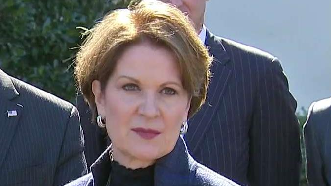 Lockheed Martin CEO Marillyn Hewson discusses the meeting with President Trump and participating in the regulatory reform group at the White House.