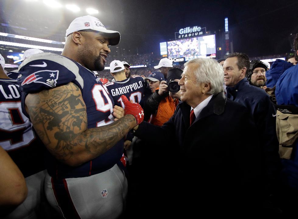 Robert Kraft talks about buying the Patriots, his super star quarterback Tom Brady and coach Bill Belichick.