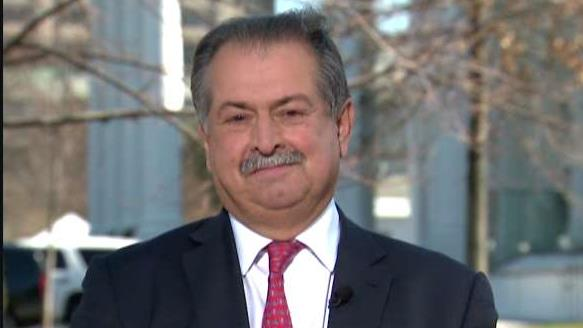 Dow Chemical CEO Andrew Liveris on the opportunity to grow the U.S. economy under President Trump.