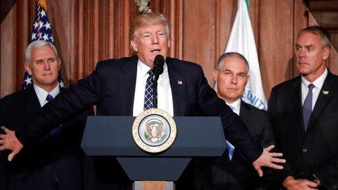 Administrator of the Environmental Protection Agency Scott Pruitt on rolling back regulations, the Paris agreement and the war on coal.