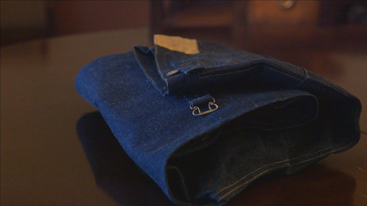 Pioneer's descendent inherits his never-worn 1893 Levis. They're a denim collector's 'Holy Grail.'