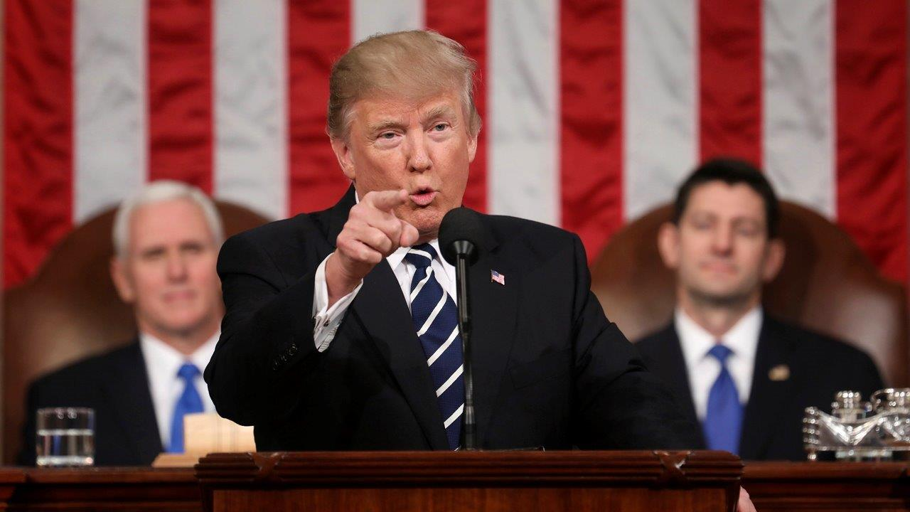 AFL-CIO President Richard Trumka on President Trump's speech before Congress, immigration, trade and boosting U.S. job growth.