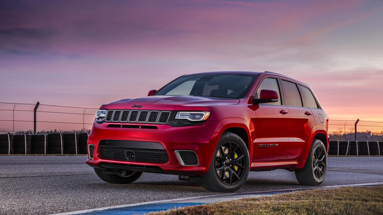 FCA Jeep Brand Head Michael Manley introduces Jeep's most powerful and fastest SUV, the Grand Cherokee Trackhawk.