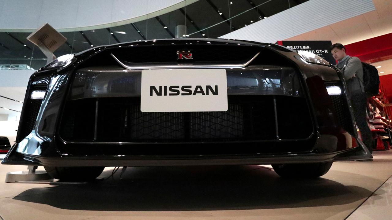 FBN's Jeff Flock takes a spin in Nissan's new cop car.