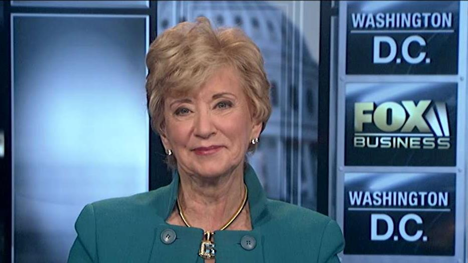 Small Business Administrator Linda McMahon on President Trump's tax cuts on small business.
