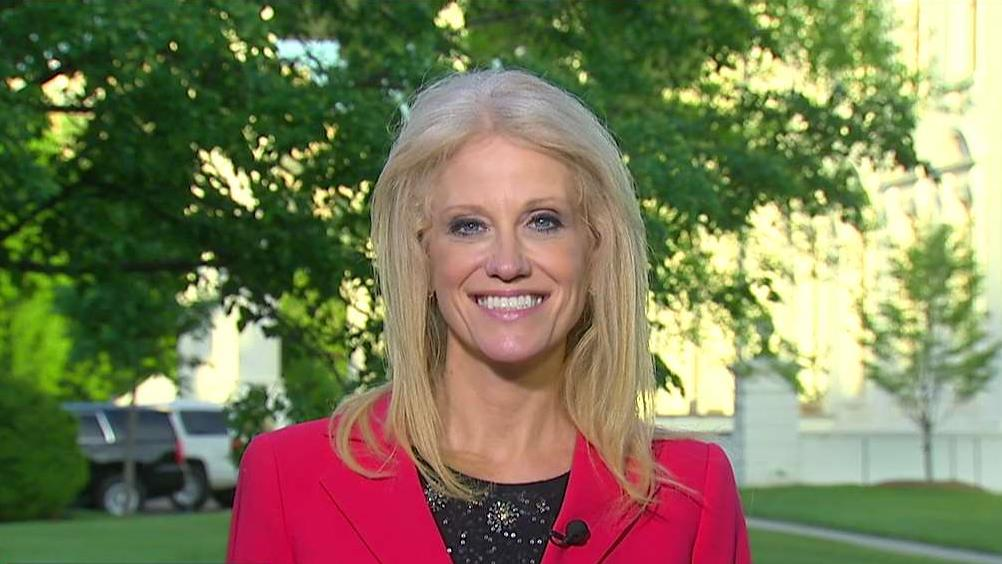Counselor to President Trump Kellyanne Conway on the commander-in-chief's executive orders and tax reform plan.