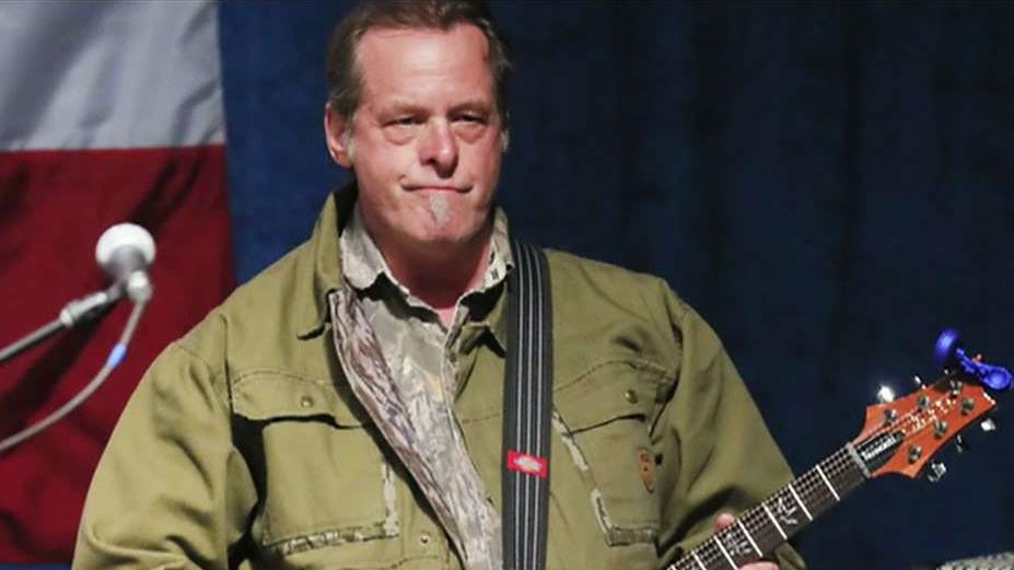 Musician Ted Nugent on the border wall, immigration, his visit to the White House and fake news.