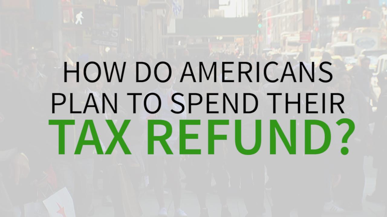 FOX Business hit the streets to ask Americans how they really plan to spend their tax refund check from Uncle Sam. The answers may surprise you!