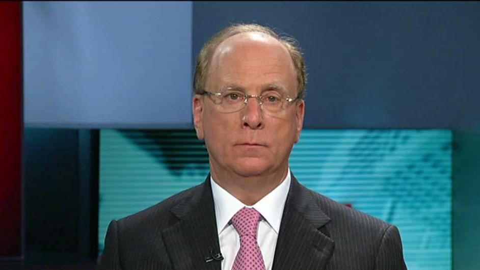 Blackrock Chairman and CEO Larry Fink on Blackrock's earnings, U.S. economic growth, tax reform and job creation.