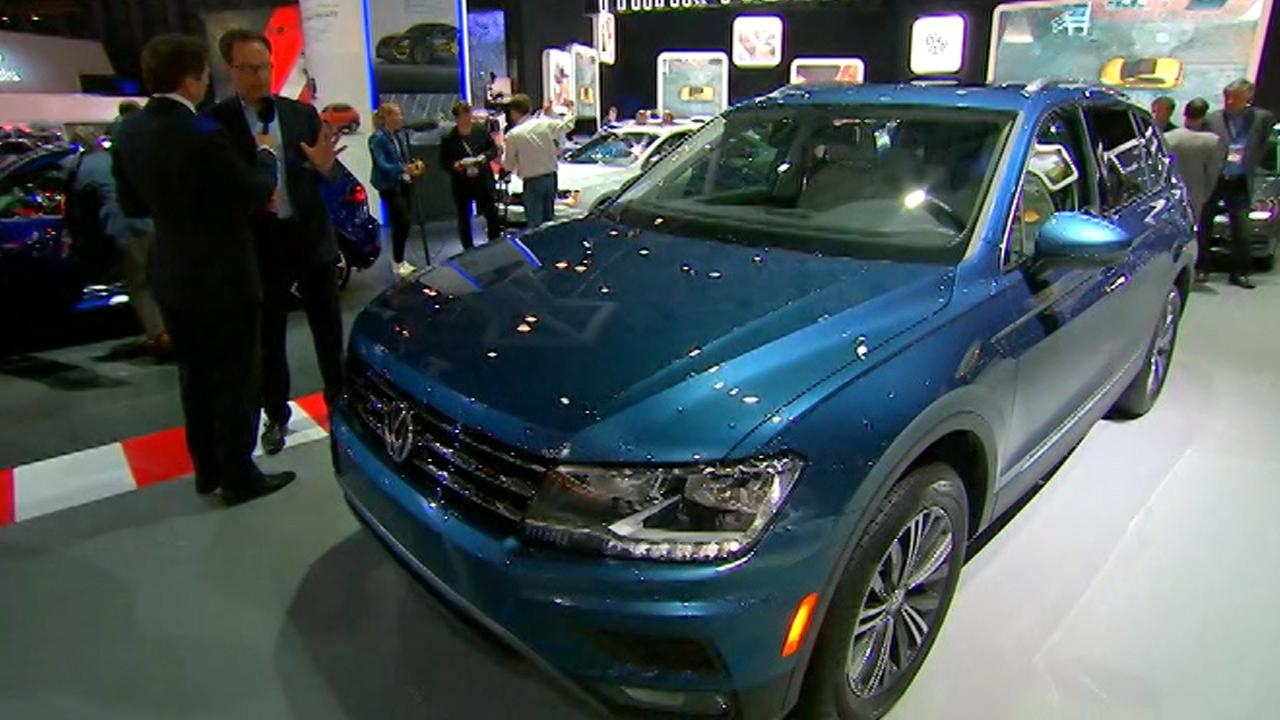 Volkswagen CEO of the North America Region Hinrich J. Woebcken unveils VW's latest vehicles and responds to diesel controversy with FOX Business' Jeff Flock.