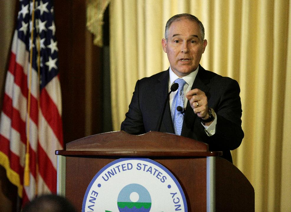 Environmental Protection Agency Administrator Scott Pruitt on the organizational shift in the EPA, and the new focus on developing America's natural resources while still protecting the environment.