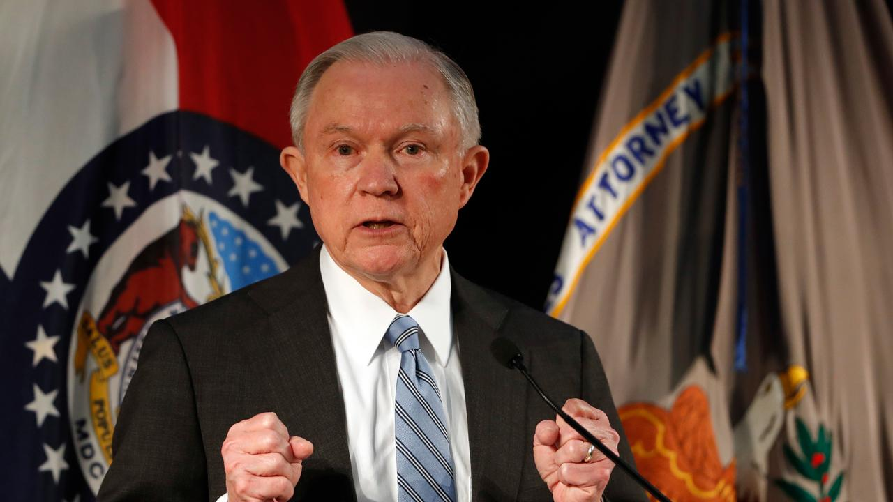 Attorney General Jeff Sessions lays out the administration's new policy on border security and illegal immigrants who commit crimes.