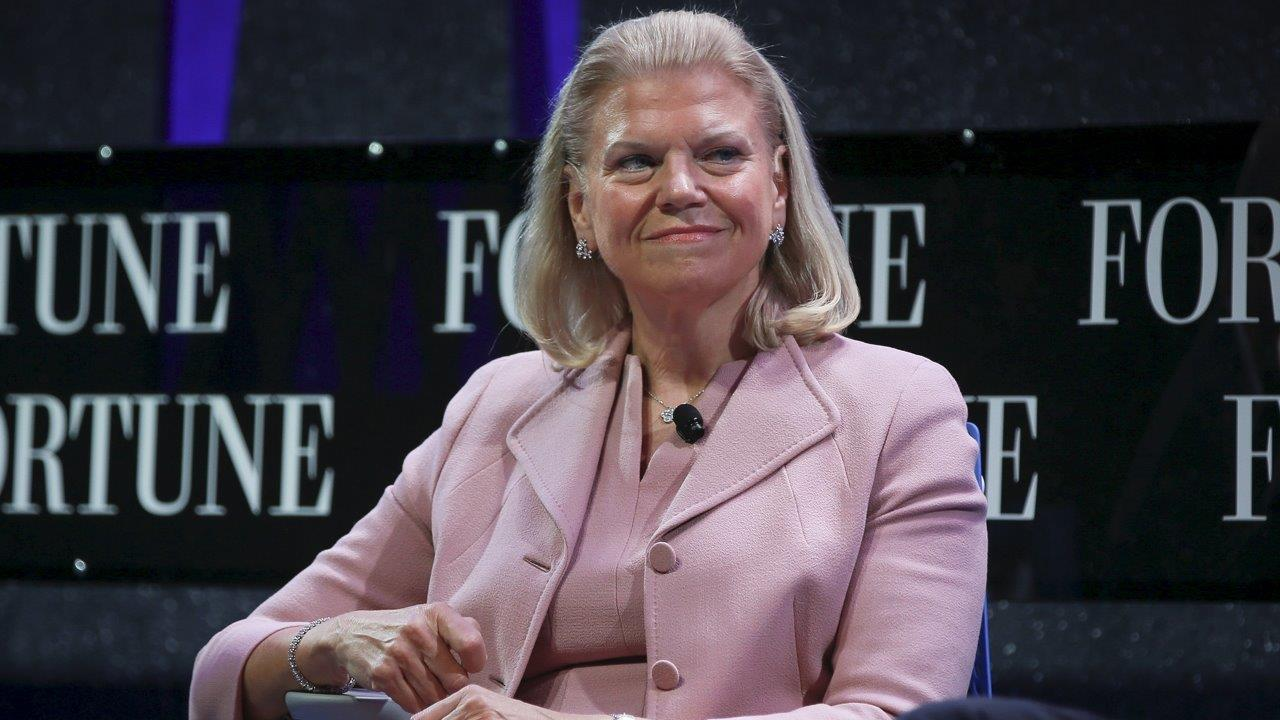 IBM CEO Ginni Rometty on efforts to close the job skills gap in America.
